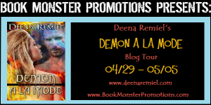 DEMON A LA MODE Tour Banner